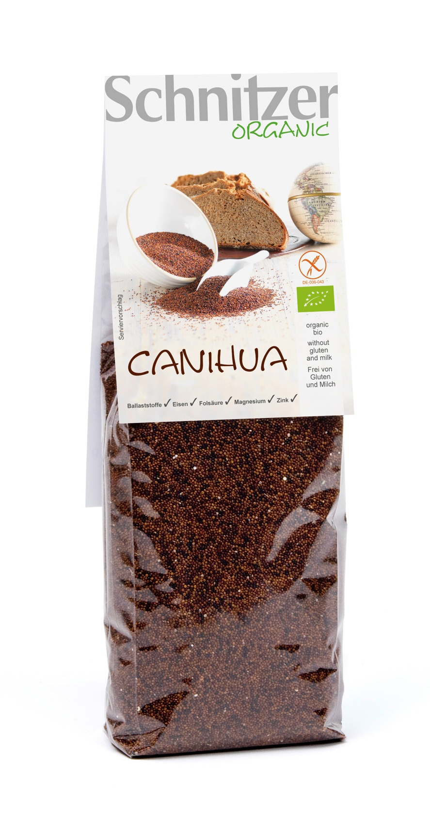 Ekologiczne bezglutenowe ziarna Canihua