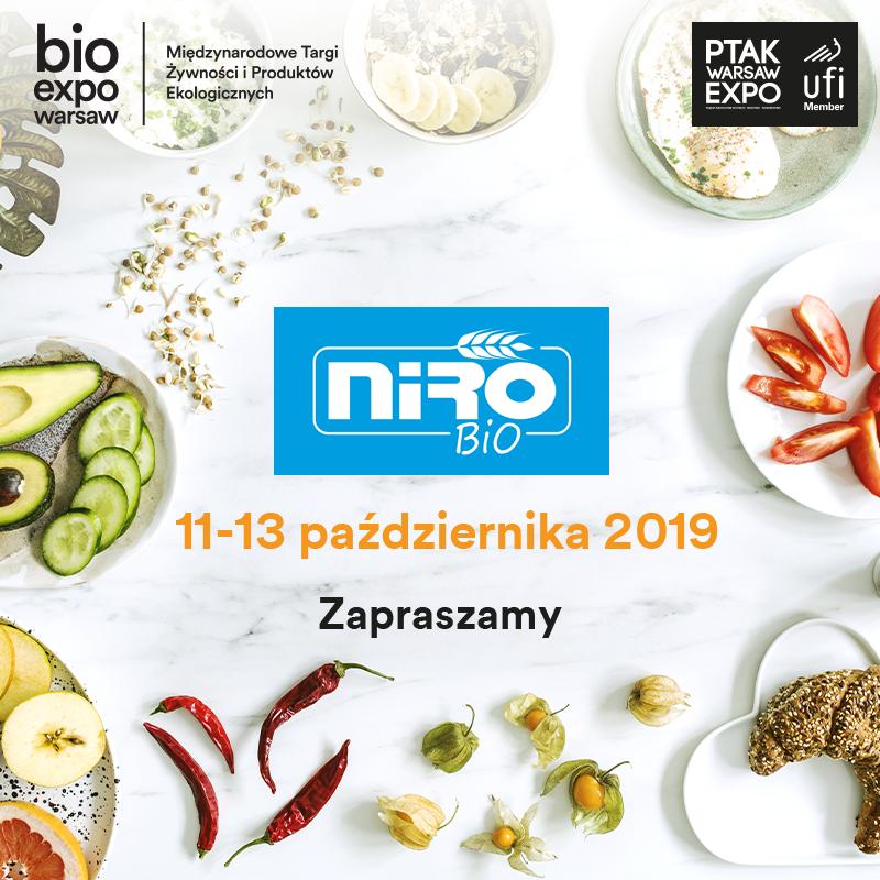 Bio EXPO Warsaw zaproszenie