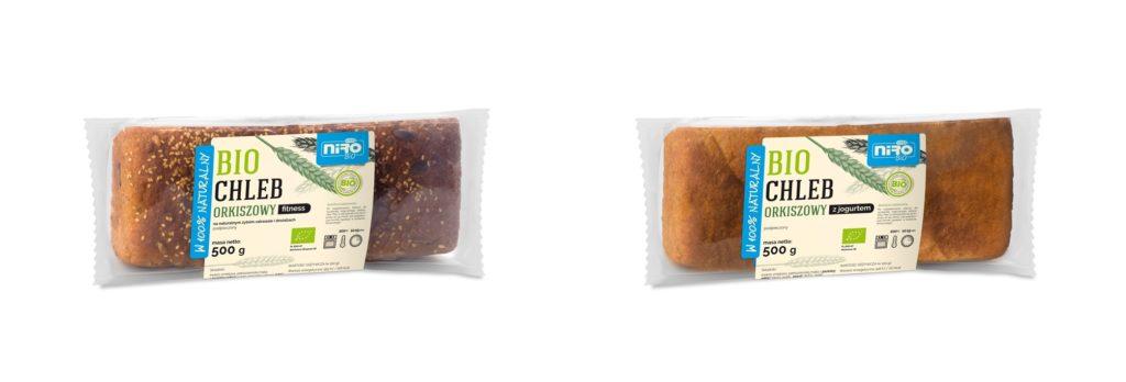 bio chleby orkiszowe do podpiekania